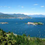 Uitrusten bij de meren van Italie